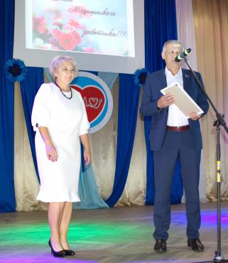 Участие Дубова А.В. в торжественном мероприятии, посвященном Дню медицинского работника в г. Сенно
